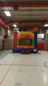 sports theme bounce house school gym rockwall allen plano