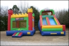 watchtower_combo_dry slide bounce house rental rockwall allen plano
