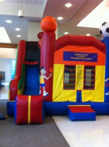 bounce house slide combo sports royse city