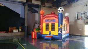 bounce house slide combo sports rockwall