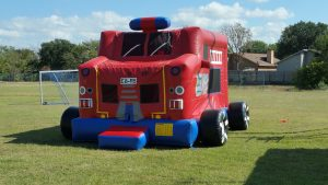 fire truck bounce house 3 rockwall allen plano