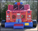 firetruck bounce house rental rockwall allen plano
