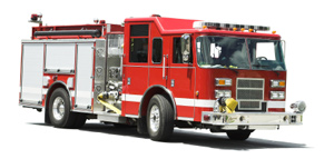 fire truck firehouse bounce rockwall allen plano