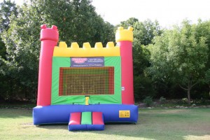 rent colorful bounce house watchtower