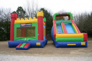 watchtower_combo rental bounce house dry slide rockwall allen plano