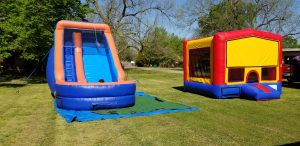 wet dry bounce house combo